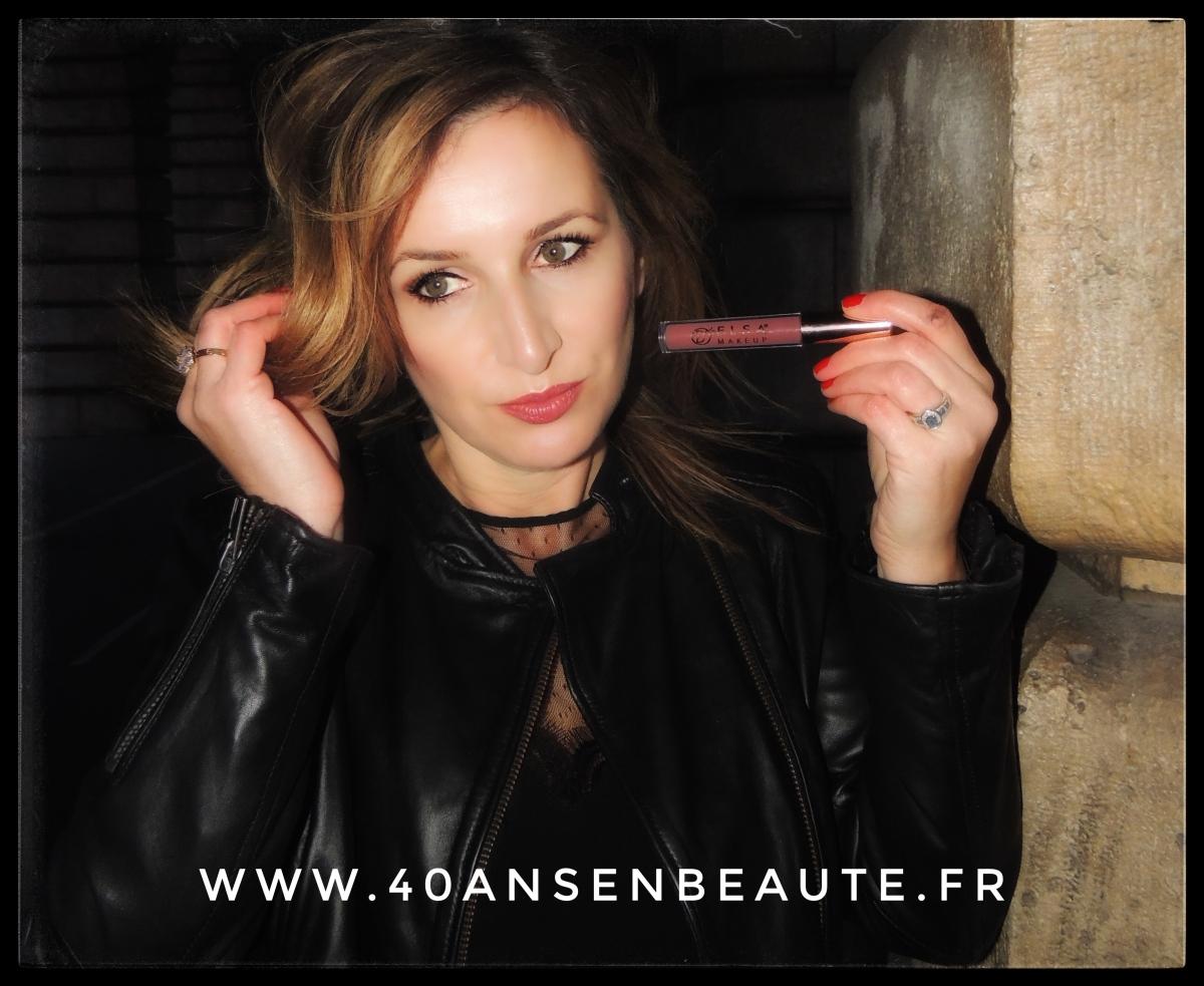 """ELSA MAKEUP : Rouge à lèvres liquide matte - Teinte """"Bella"""""""