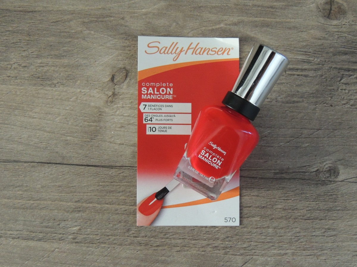 Vernis SALLY HANSEN : LE TEST