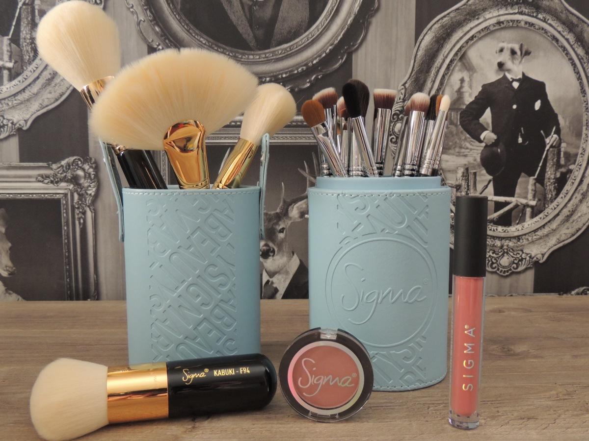 SIGMA : Pinceaux et Makeup commandés aux USA 🇺🇸 ➡️ 🇫🇷