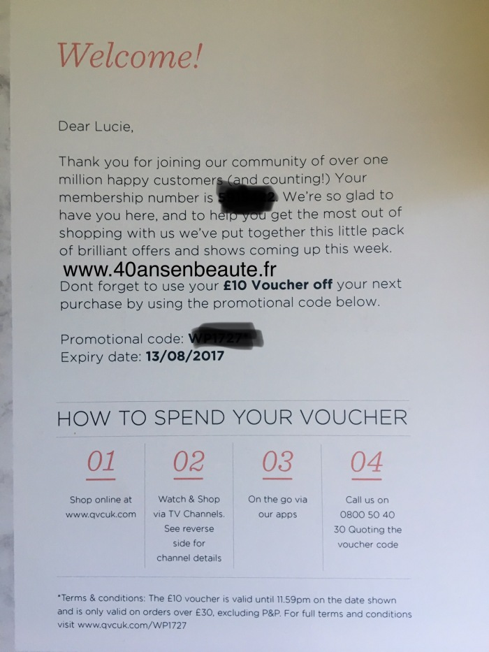 40 ANS EN BEAUTE VOUCHER QVC UK TARTE COSMETICS.jpg