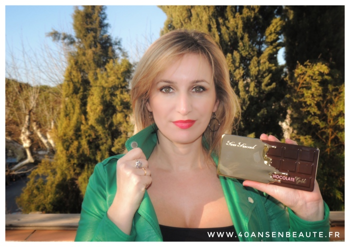 TOO FACED PALETTE CHOCOLATE GOLD AVIS 40 ANS EN BEAUTE