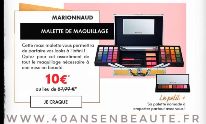 MAQUILLAGE-MARIONNAUD-SOLDES-BONS-PLANS-PROMOTIONS-2018-AVIS-CRASH-TEST-BLOG