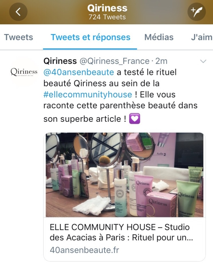 TWITTER-RETWEET-QIRINESS-BLOG-40-ANS-EN-BEAUTE-AVIS-ELLE-Community-House