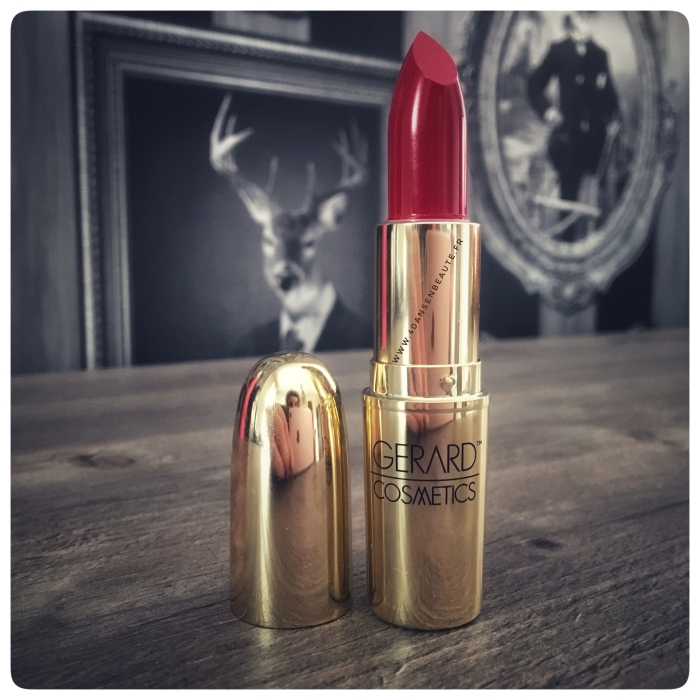 AVIS-GERARD-COSMETICS-ROUGE-A-LEVRES-LIPSTICK-PASSION-PLAY-FIRE-ENGINE-