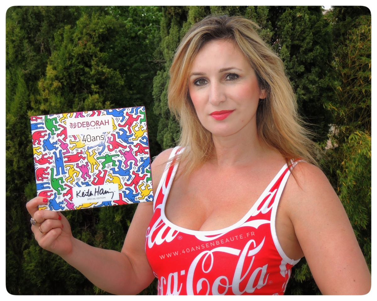 DEBORAH MILANO : sa collection exclusive célèbre Keith HARING et l'art du Graffiti !