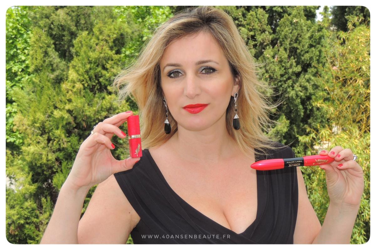 FESTIVAL DE CANNES 2018 : Palme d'Or pour le maquillage L'ORÉAL PARIS !