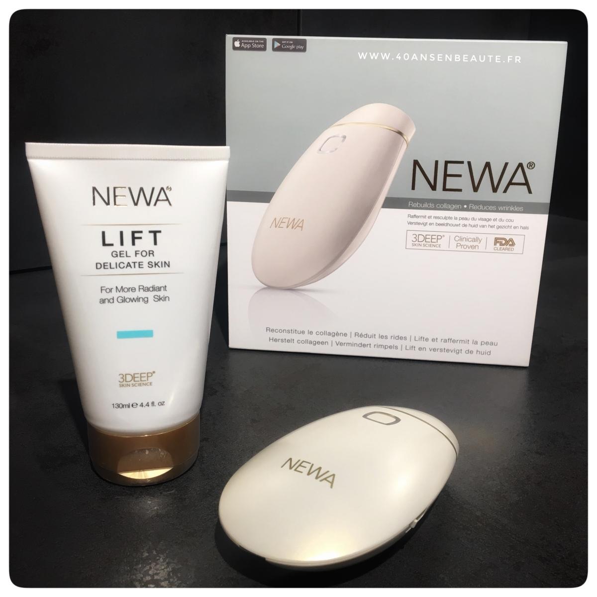 NEWA : à utiliser dès 30 ans pour raffermir, lisser la peau du visage et réduire les rides ...