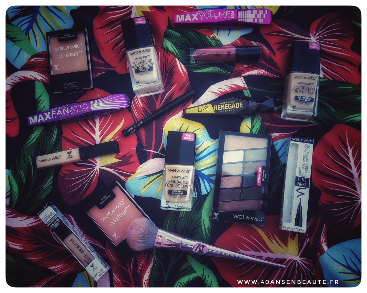 """Ou acheter """"WET N WILD"""" en France ? Voici la réponse ainsi que mon avis sur tout leur maquillage..."""